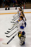 Girls Varsity Hockey vs Forest Lake 1/8/13