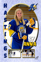 Free Downloads of Girls Hockey Parents and Senior Girls Banners